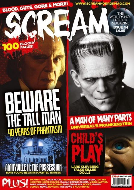 SCREAM MAG #55 W/ROB ZOMBIE HALLOWEEN II INT. PART 2 AVAILABLE