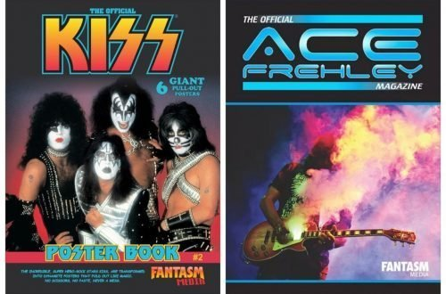 NEW KISS MAG PREVIEW & ACE FREHLEY MAG UPDATE