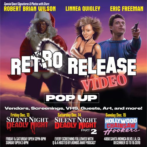 RETRO RELEASE VIDEO EVENT APPEARANCE DECEMBER 13, 14 LOS ANGELES