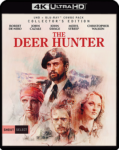 THE DEER HUNTER 4K ANNOUNCED FROM SHOUT! FACTORY