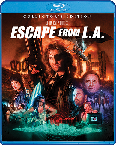 ESCAPE FROM L.A. COLLECTOR'S EDITION BLU-RAY ANNOUNCED
