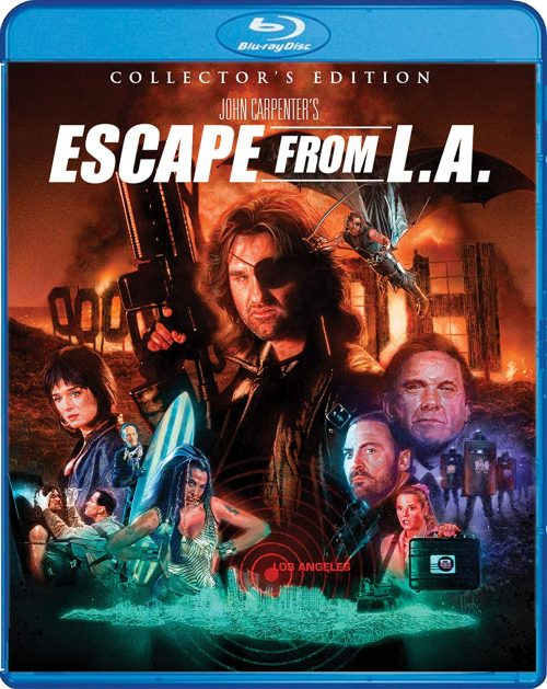 ESCAPE FROM L.A. SPECIAL FEATURES ANNOUNCED
